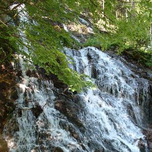 Wasserfall in der Gegend um Saalbach Hinterglemm